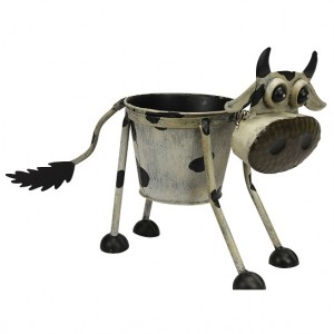 Nodding Cow Planter