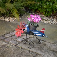 Aeroplane Shaped Garden Pot