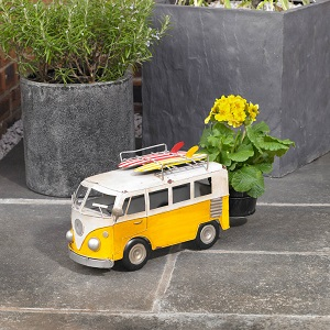 Campervan Garden Pot Planter